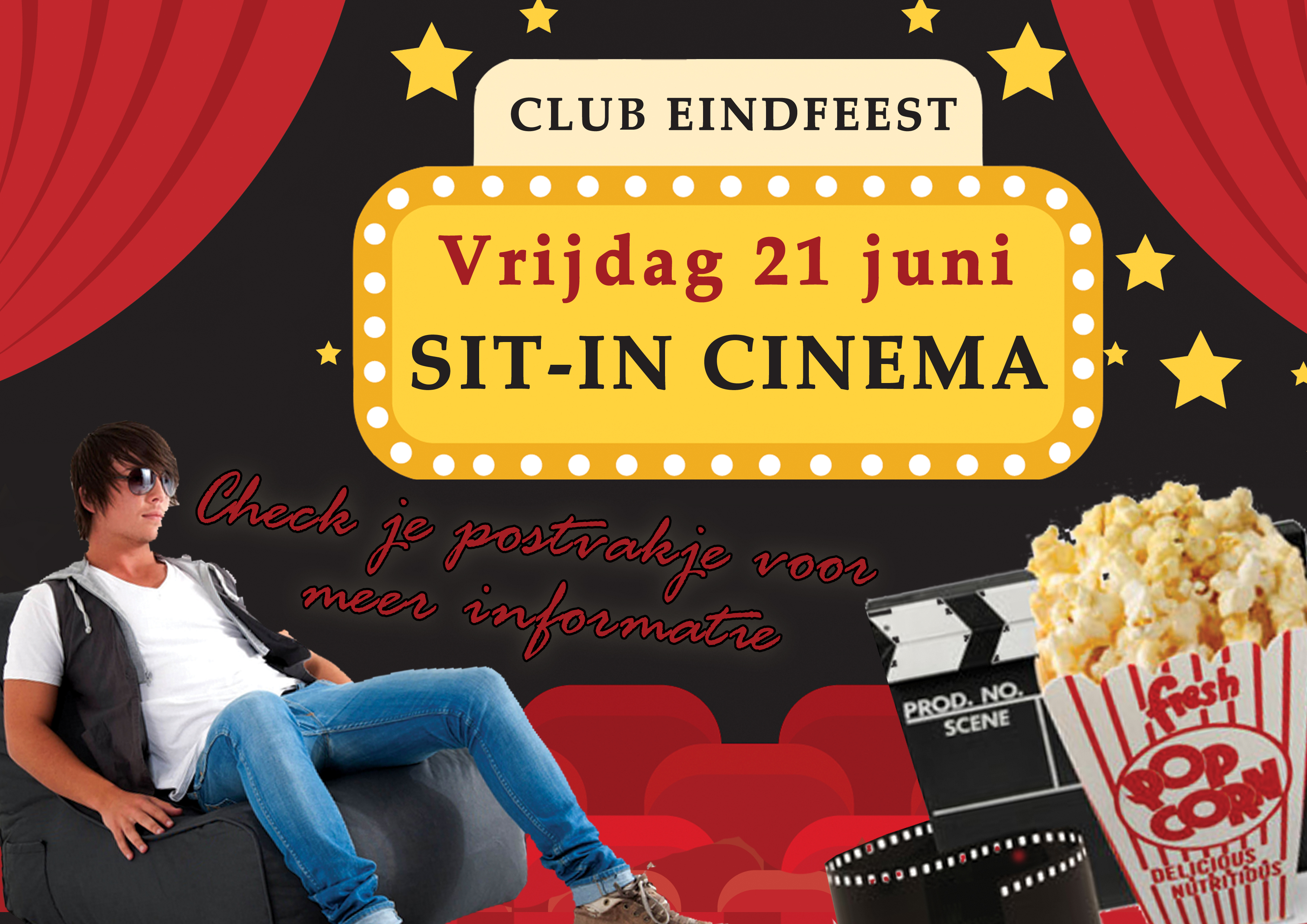 Beamerpresentatie Sit in Cinema